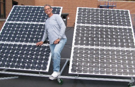 DIY Solar install at Cinci State college with Joe Utasi in-charge