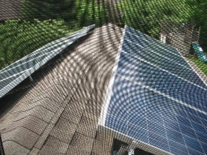 screen room roof panel installation