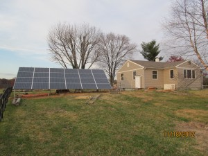 DIY Solar grid backup system