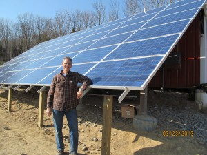 Almost finished array by Cinci Home Solar