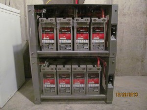 Outback AGM Battery bank
