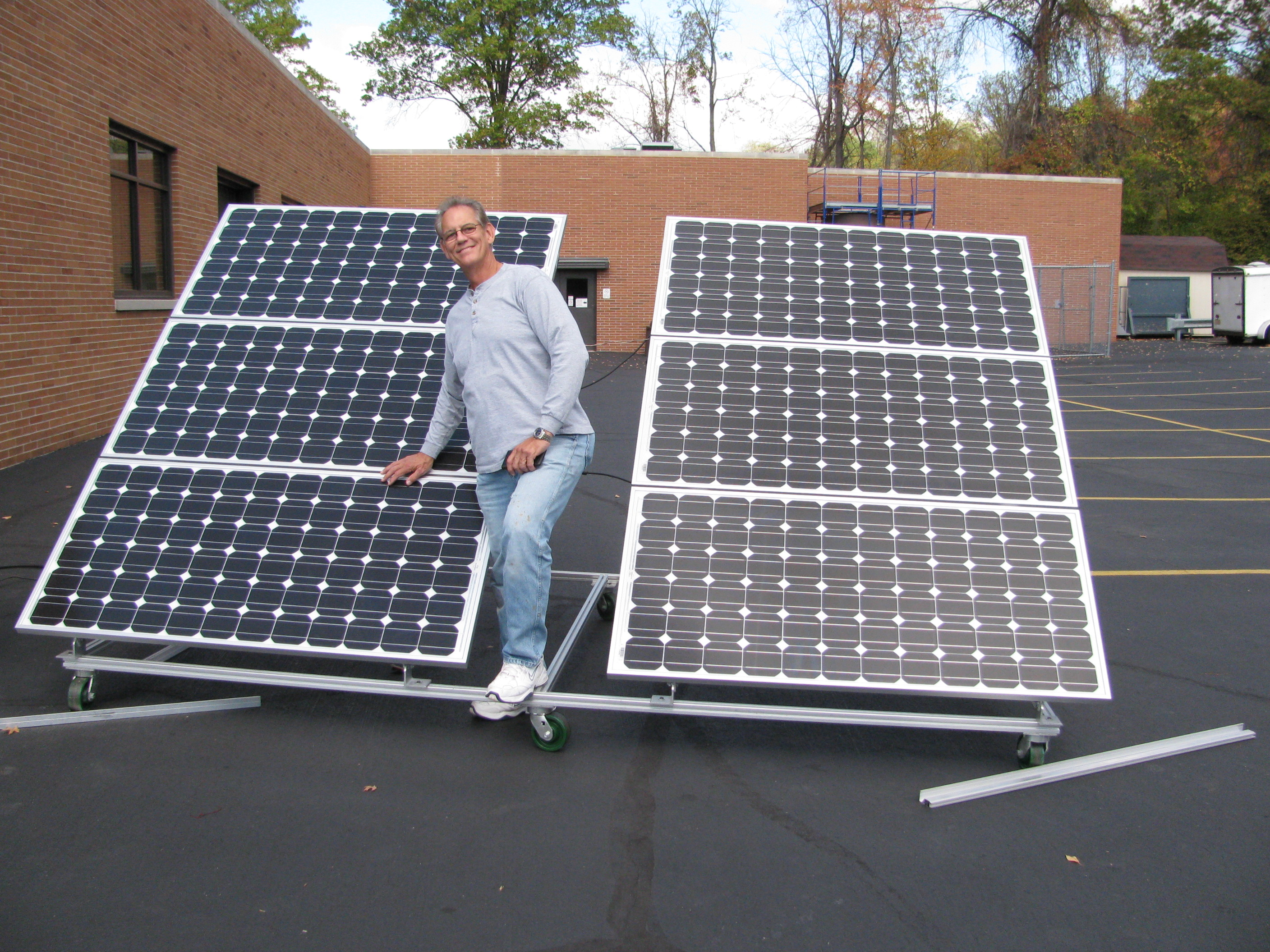Answers To The Most Asked Residential Solar Diy Questions About Front Panel Wiring Homebuilt Systems Install At Cinci State College With Joe Utasi In Charge