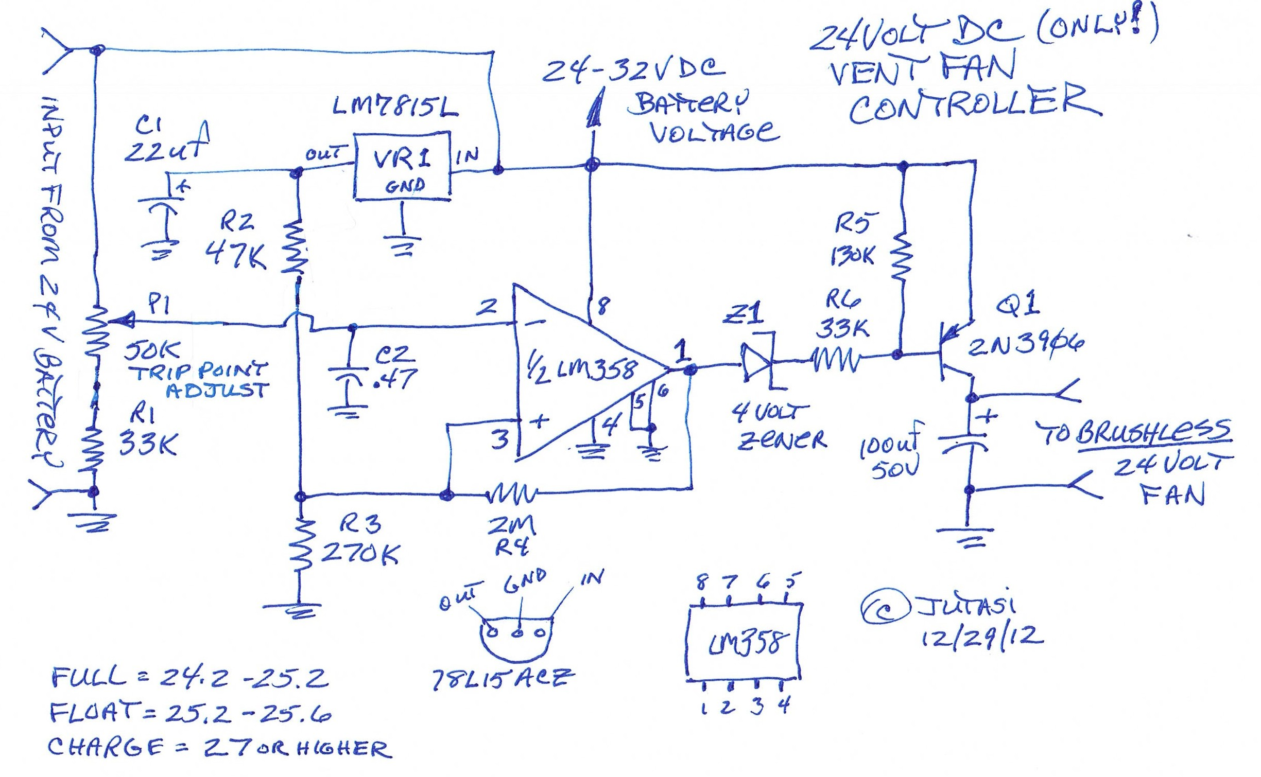 Battery Bank Controller Schematic Wire Center 12v Charger Circuit On Car Diagram Box Vent Control Cinci Home Solar Rh Cincihomesolar Com Symbol Automotive Schematics